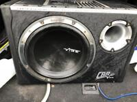Vibe 1600w Bass Box with built in amp