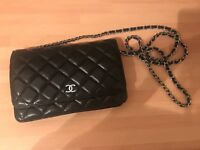 Absolutely stunning Black Chanel Quilted WOC