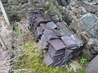 Salvaged Welsh Slates 13 x 4""