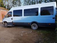 2006 Iveco Daily Minibus Racevan Camper Van 37k miles No VAT, QUICK SALE PRICE