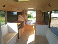 Converted Campervan Minibus, Ford Transit 350, Nearly Finished