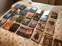64 DVDs Various Titles - £30 for the lot