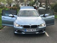 BMW 3SERIES 2.0 320D EFFICIENT DYNAMICS (S\S) 4DOOR AUTOMATIC SALOON+HPI CLN +1 YEAR MOT+3MONTH WARR