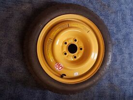 "Honda 16"" spacesaver spare wheel with brand new tyre"