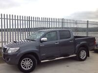 2012 TOYOTA HILUX D/C 3.0 D4-D INVINCIBLE MANUAL 4X4 GREY ++ LOW MILEAGE!! ++ FSH!! ++