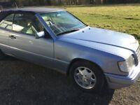 Meredes Benz E Coupe Convertible Blue 1993