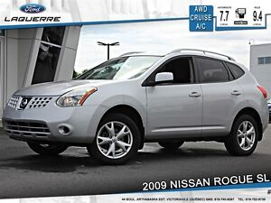 2009 Nissan Rogue **SL*AUTOMATIQUE*AWD*CRUISE*A/C**