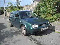 VW GOLF MK 4 2L FOR SPARES OR REPAIR