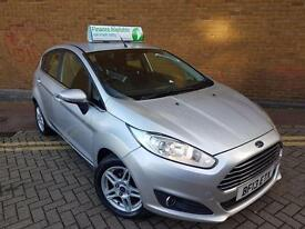 FORD FIESTA 1.5 TDCi Zetec 5dr (silver) 2013