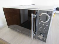 Silver SWAN microwave oven