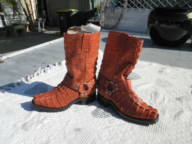 Alligator Motorcycle Boots Men S Shoes Gumtree