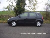 VW Polo 1.4 TDI --2005-- 5 Door- Excellent condition clean car good runner, cheap to run!!
