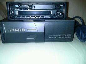 Car cd auto changer with radio and cassette