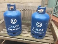 Full calor gas bottle 15kg x2 £25each