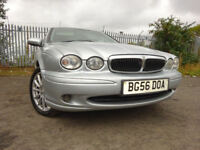 56 JAGUAR X-TYPE CLASSIC DIESEL 2.0,MOT MAY 018,2 OWNERS FROM NEW,PART HISTORY,STUNNING RELIABLE CAR