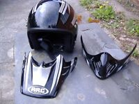 arc open face helmet