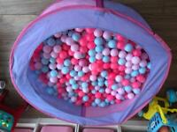 Ball pit complete with balls