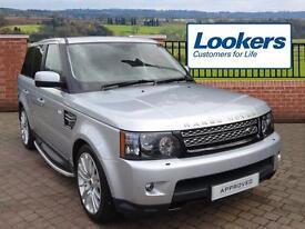 Land Rover Range Rover Sport SDV6 HSE (silver) 2012-03-02