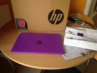 Purple Laptop HP 15 - p273na