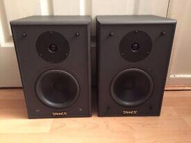 Tannoy PBM 6.5 2-way bookshelf speakers / near-field studio reference monitors