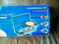 Camping fishing stove like new
