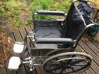 Wheelchair - Self Propelled - Foldable
