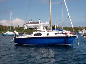 LEISURE 17 SAILING BOAT