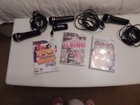 WII SING AND THATS WHAT I CALL MUSIC BUNDLE