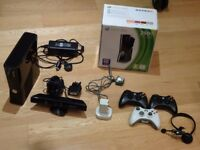 Xbox 360, Kinect, 3 Controllers