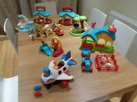 Happyland sets