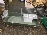 Large indoor guinea pig/rabbit hutch