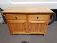 Pine Country Style Sideboard - SOLD PENDING COLLECTION