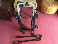 EBC Revolution Shuttle Bike Carrier (up to 3 bikes). Hardly used. Complete with accessories.