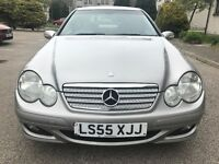 06 *DIESEL* MERCEDES COUPE, 2.2-AUTO, FULL YEAR MOT, FULL SERVICE HISTORY