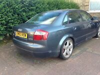 Audi A4 2003 semi auto tdi damaged