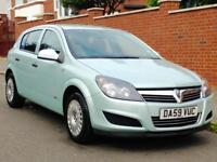 2009 VAUXHALL ASTRA 1.4 CAMBELT REPLACED LOW MILEAGE SERVICE HISTORY LONG MOT 3 MONTHS WARRANTY