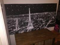Extra large Paris canvas