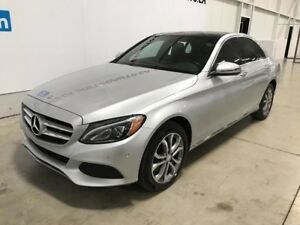 2017 Mercedes-Benz C-Class 300 GPS TOIT CAMERA