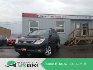2008 Hyundai Veracruz LIMITED | LEATHER | DVD | MOONROOF