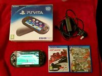 Ps vita slim boxed with 2 games
