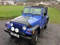 JEEP WRANGLER 2.5 IMMACULATE, LOW MILEAGE, FULL S/H, PART EXCHANGE WELCOME