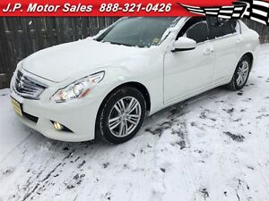 2012 Infiniti G37 Luxury, Automatic, Leather, Heated Seats, Back