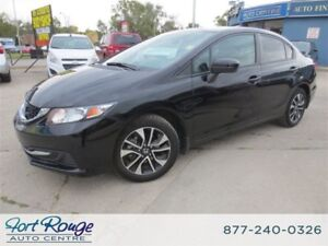 2015 Honda Civic EX -/SUNROOF/BLUETOOTH/CAMERA