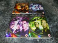 star trek enterprise box sets complete series on 27 dvds £20.ono