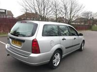Ford Focus ESTATE + 1.6 + AUTOMATIC + 12 MONTHS TEST + FSH (14 STAMPS) + TIMING BELT DONE + 2 KEY