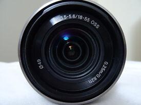 Sony E 18-55mm f/3.5-5.6 OSS Lens (Silver)