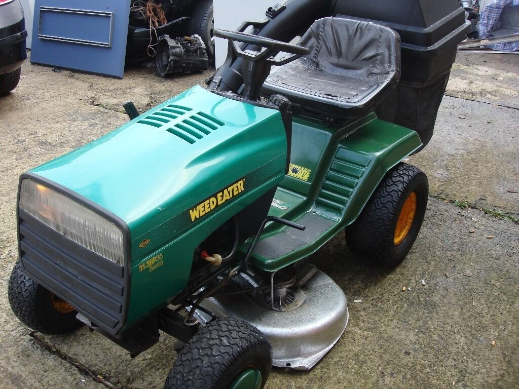 Tractor Rims 36 : Tractor weed eater husqvarna hp speed ready to