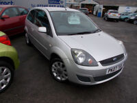 PART X DIRECT OFFERS VERY CLEAN 1.4 FIESTA SILVER COMES WITH NEW MOT SERVICE +WARRANTY FINANCE ME !!