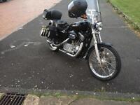 Harley Davidson 883 sportster custom