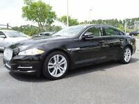 2011 Jaguar XJ XJ-L -- CANADIAN -- BLACK  ON BLACK